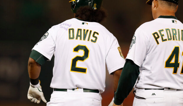 Khris Davis gives Make-A-Wish Recipient a Night to Remember