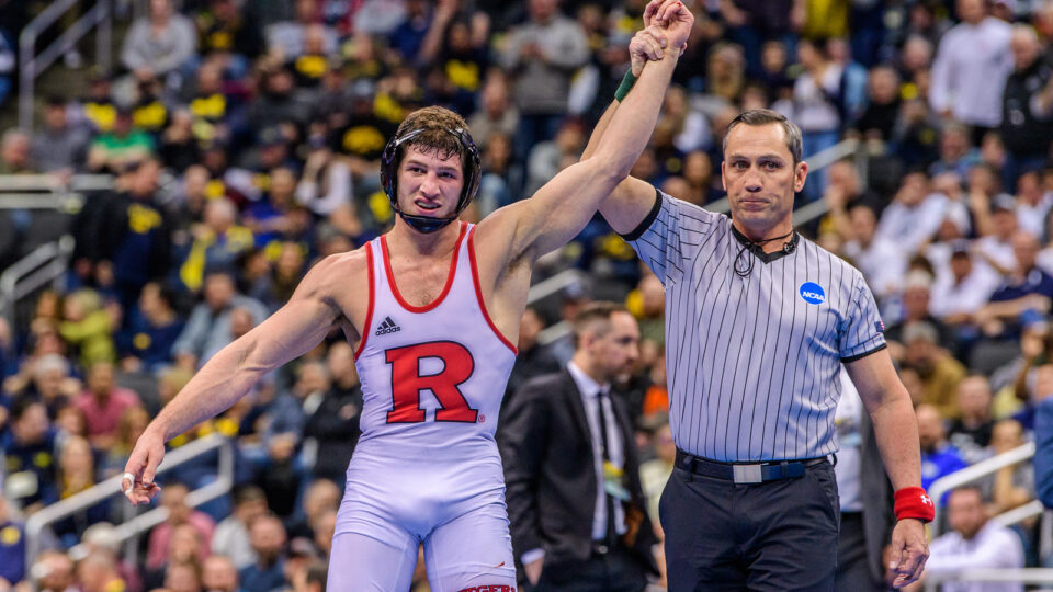 More Than Just A Wrestler: A Conversation with National Champion Anthony Ashnault