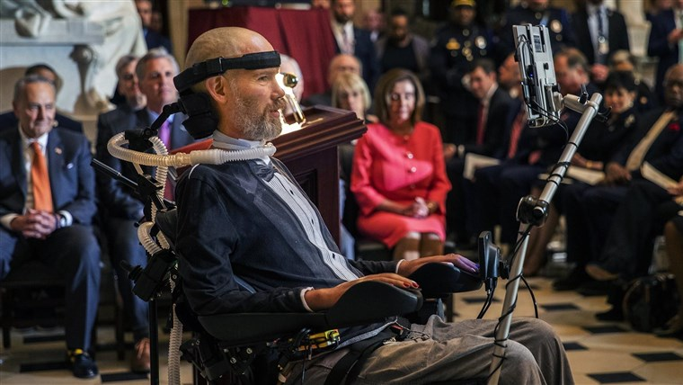 Saints Legend Steve Gleason wins the Congressional Gold Medal