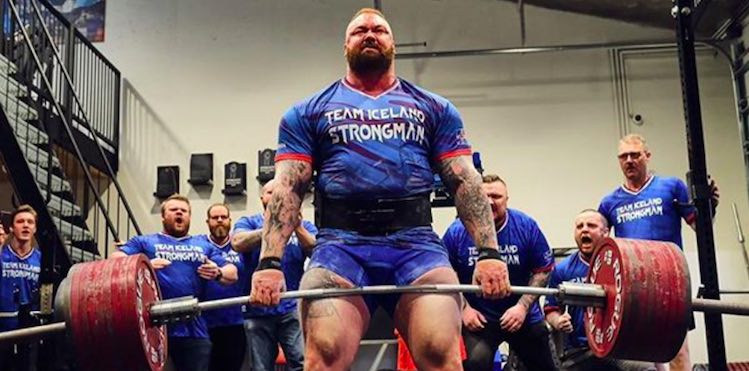 Hafthor Bjornsson Sets Deadlift Record at 501 KGs