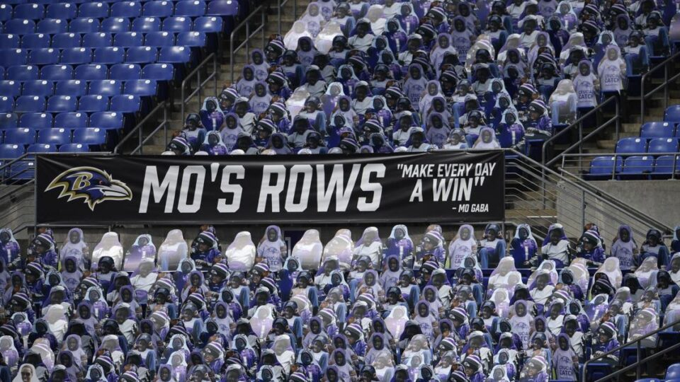 The Ravens Honor Number One Fan Mo Gaba